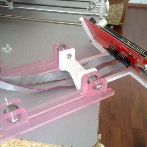 Download free 3D printer model lcd support, Lurgmog