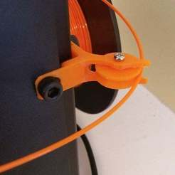 Download free STL file Replicator 2/2x Filament Guide • 3D printable object, Lurgmog