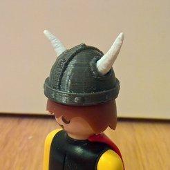 Télécharger fichier STL gratuit Playmobil Tête Viking • Plan à imprimer en 3D, Lurgmog