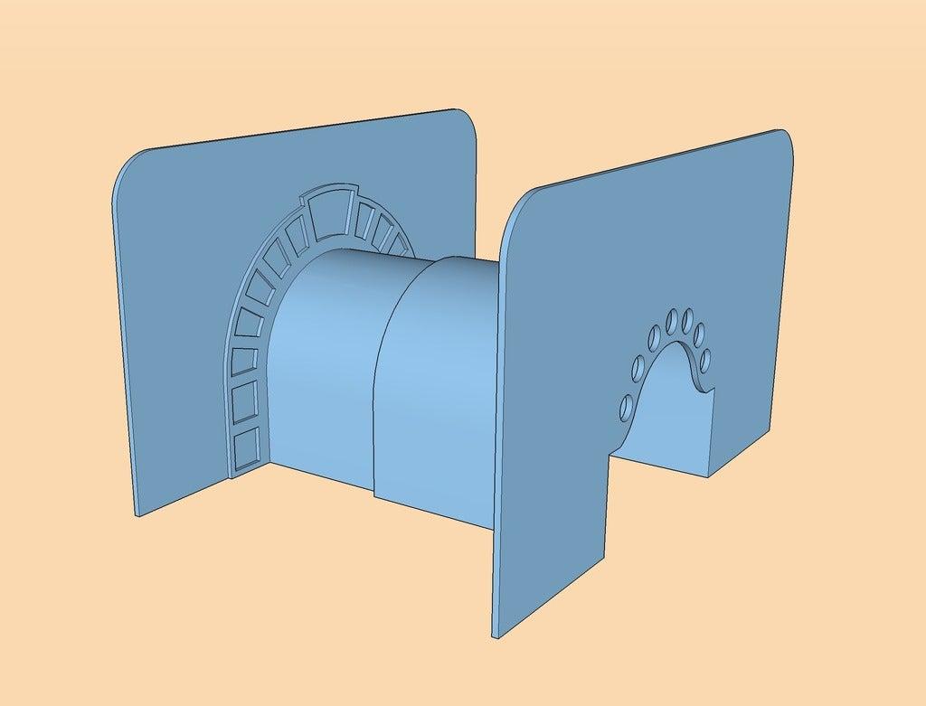 Arch_Mold_display_large.jpg Download free STL file Ultimate Sandcastle Kit • 3D printable model, Lurgmog