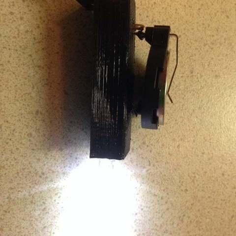 Download free STL LED Glasses Light Helper, Lurgmog
