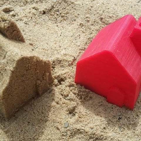 Download free 3D model Sand mold: House, Lurgmog