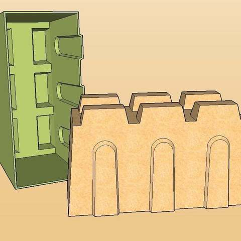 Wall_display_large.jpg Download free STL file Ultimate Sandcastle Kit • 3D printable model, Lurgmog