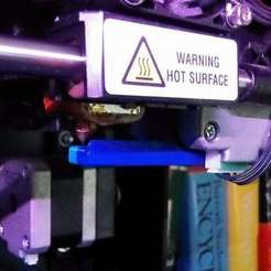 108_1384_display_large.JPG Download free STL file OUTDATED Replicator 2 Hot End Cover • 3D printer design, Lurgmog