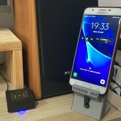 F3FB535B-F87F-4128-8252-3AF77F980DD1.jpg Télécharger fichier STL gratuit Support pour téléphone • Design pour imprimante 3D, Harel_Shriki