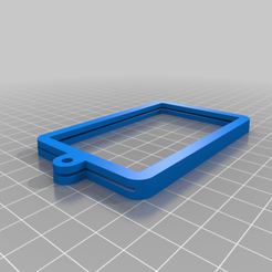 Download free 3D print files Modified Card Lanyard Holder, MjikThize