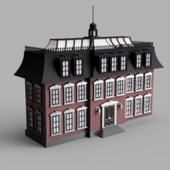 Advent_Calendar_House_2019-Nov-29_05-49-45PM-000_CustomizedView13715436815.png Télécharger fichier STL Maison du calendrier de l'Avent de Noël • Modèle à imprimer en 3D, JimmySnails