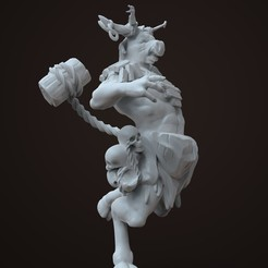 Download 3D printer designs MooseMan Miniature, azorean3d