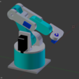 Download free STL ROBOT ARM mini, Nikgourg