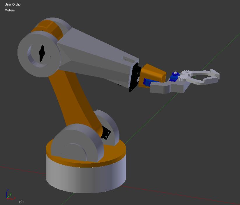 20.07.2019_15.10.28_REC.png Télécharger fichier STL gratuit Bras robotique • Modèle imprimable en 3D, Nikgourg