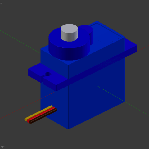 Download free 3D printer files Servo sg90 , Nikgourg
