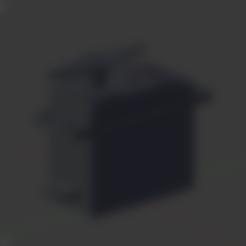Download free 3D printing templates Servo sg995 , Nikgourg