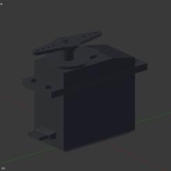 Free 3D model Servo sg995 , Nikgourg