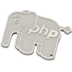 Download free 3D printer designs ElePHPant, juunp