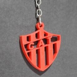 Llavero Talleres RE.jpg Télécharger fichier STL Keyring Club Atletico Talleres RE • Design à imprimer en 3D, cintucores