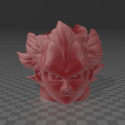 2.png Download free STL file Mate Vegeta Dragon Ball Super • 3D printing template, germanpereznieva