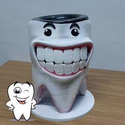 Descargar archivo STL Mate Muela Odontologos • Modelo imprimible en 3D, germanpereznieva