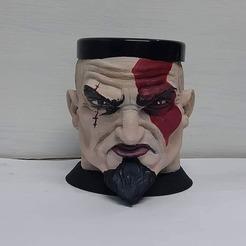 109522638_863938160759838_1086687717007926315_n.jpg Descargar archivo STL Mate Kratos PS4 • Modelo imprimible en 3D, germanpereznieva