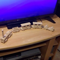 Imprimir en 3D Pequeño tren decorativo, Systeme_D