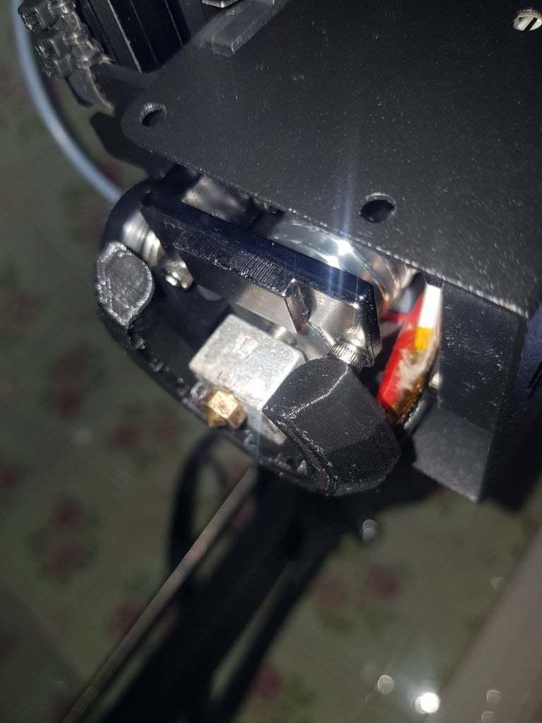 20190815_131015.jpg Télécharger fichier STL gratuit Refroidisseur de conduit de ventilateur Anycubic Chiron Extruder • Design pour imprimante 3D, dincaionclaudiu