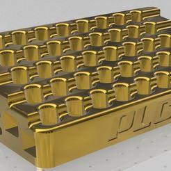 vue 3.JPG Download free STL file holders for 40 pens/pencils • 3D printer template, PLC