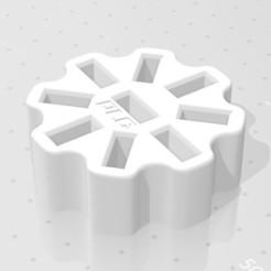 Descargar archivos 3D gratis Porta-llaves USB de 8 anillos, PLC