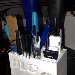 Imprimir en 3D gratis Stand I3d - soporte para herramientas de impresión 3D e impresora, PLC