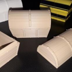 Impresiones 3D gratis Caja fuerte tipo pirata L 50 mm x A 30 mm x H 30 mm, PLC
