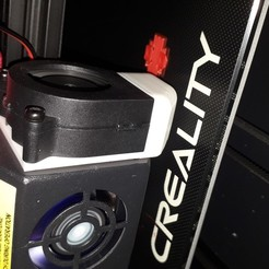 Descargar archivo 3D gratis conducto de ventilador cr-10s pro, PLC