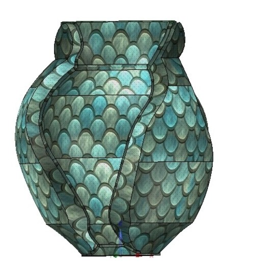 Vase05-05.jpg Download OBJ file vase cup vessel v05 for 3d-print or cnc • 3D printable template, Dzusto
