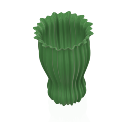 Download 3D printer designs vase cup pot jug vessel spring forest v77 for 3d-print or cnc, Dzusto