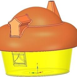 Imprimir en 3D Caja de regalo de boda Caja de joyería modelo de impresión 3D, Dzusto