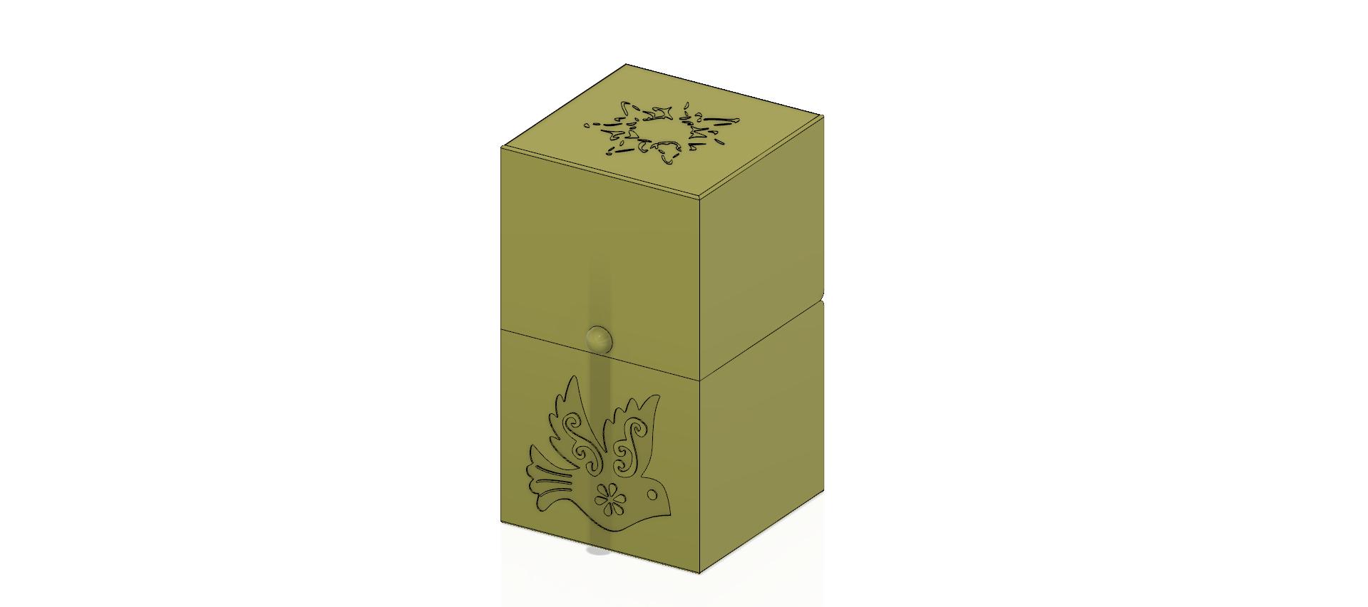 cube-02-a1 v1-02.png Descargar archivo OBJ Caja de regalo Caja secreta pequeña caja secreta Modelo de impresión en 3D • Modelo para imprimir en 3D, Dzusto