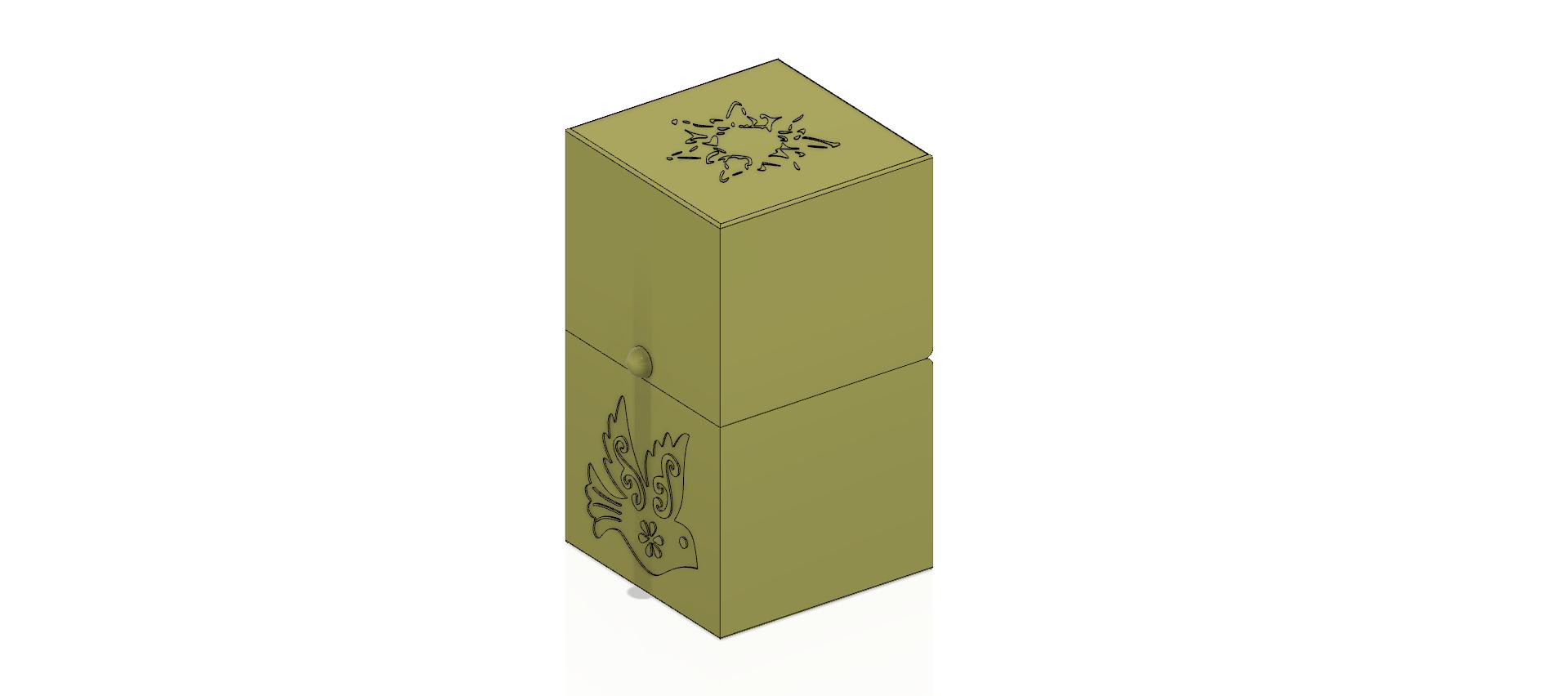 cube-02-a1 v1-15.png Descargar archivo OBJ Caja de regalo Caja secreta pequeña caja secreta Modelo de impresión en 3D • Modelo para imprimir en 3D, Dzusto