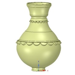 Download 3D printer files vase cup vessel v08 for 3d-print or cnc, Dzusto