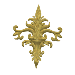 "decor-04 v10-01.png Download STL file real 3D Relief For CNC building decor wall-mount for decoration ""decor-04"" 3d print  • Design to 3D print, Dzusto"