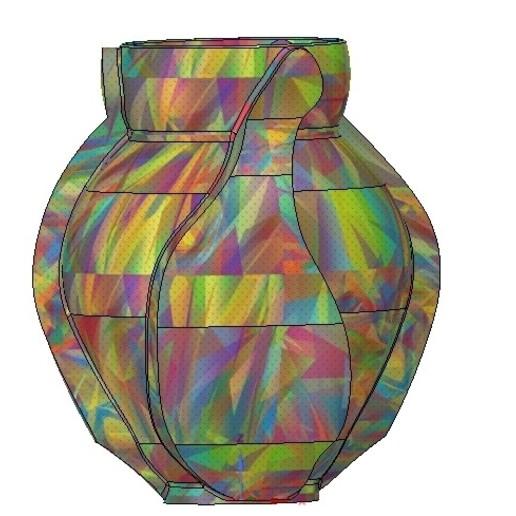 Vase05-08.jpg Download OBJ file vase cup vessel v05 for 3d-print or cnc • 3D printable template, Dzusto