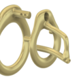 Download 3D printing files Male Chastity Device Cock Cage Penis Ring  Virginity Lock Chastity Belt Adult Game Sex Toy locker Cage-23 3d print and cnc, Dzusto