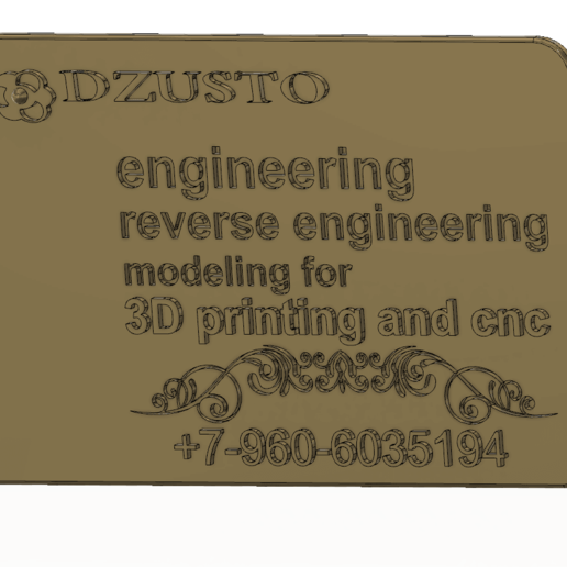 business card 01 v5-01.png Download free STL file Modeling product engineering and reverse-engineering  for CNC machines and 3D printing • 3D printable object, Dzusto