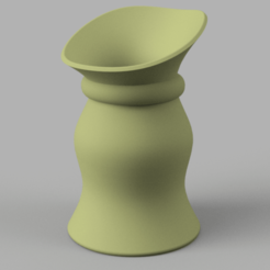 vase312 v3-r02-1.png Download OBJ file country style vase cup vessel v312 for 3d-print or cnc • 3D print object, Dzusto