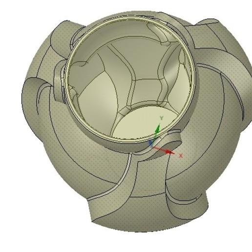 Vase05-09.jpg Download OBJ file vase cup vessel v05 for 3d-print or cnc • 3D printable template, Dzusto