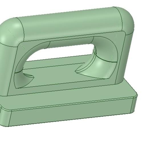 Download 3D model Nylon Internal Flat Slide and Slug ABA91 3d-print, Dzusto