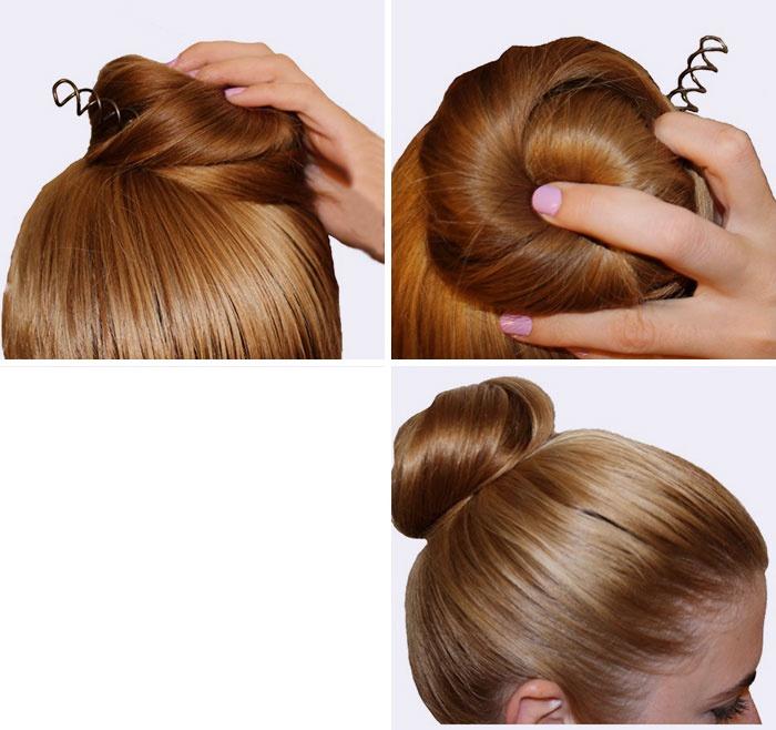 Female braid hair 02-01.png Download STL file Spiral Spin Screw Hair Pins Clip Twist Barrette female WEDDING Accessory hair braid hair styling roller hair accessories for girl headdress weaving tool fbh-02 3d print cnc • Design to 3D print, Dzusto