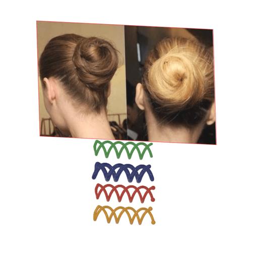 Female braid hair 02 v4-02.png Download STL file Spiral Spin Screw Hair Pins Clip Twist Barrette female WEDDING Accessory hair braid hair styling roller hair accessories for girl headdress weaving tool fbh-02 3d print cnc • Design to 3D print, Dzusto