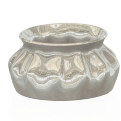vase-pot-28 v1-00.png Descargar archivo OBJ jarrón taza jarra recipiente primavera bosque v28 para 3d-print o cnc • Plan de la impresora 3D, Dzusto