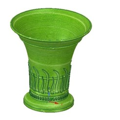 Download 3D printer model vase cup vessel v24 for 3d-print or cnc, Dzusto