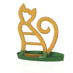 Download STL files jewelry Stand holder for pretty girl gift 3d-print or cnc, Dzusto