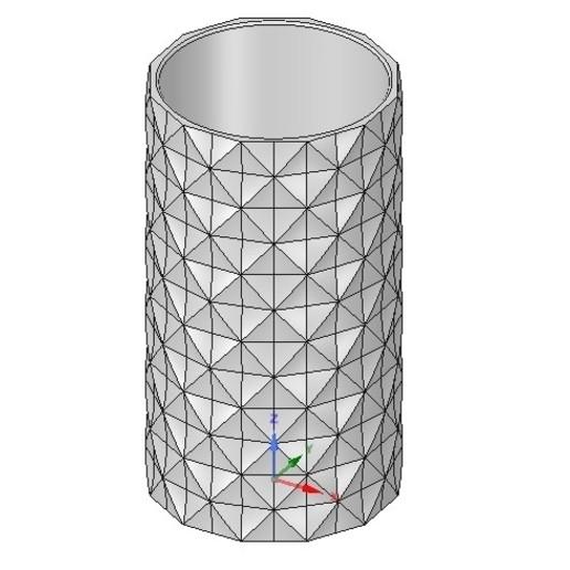 Descargar archivos 3D recipiente de vaso v18 para impresión en 3d o cnc, Dzusto