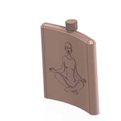 flask-03 v6-01.png Download OBJ file flask outside ice accumulation accumaker 3D print • 3D printing template, Dzusto