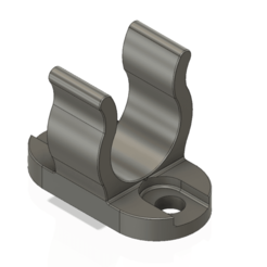 Tiller Extension Retaining Clip 16 mm v1-01.png Download OBJ file Tiller Extension Retaining Clip for 16mm Tube Marine • Template to 3D print, Dzusto